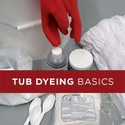 Tub Dyeing Basics with Dharma Acid Dye. Plus other dying techniques (for yarn) that could be useful.