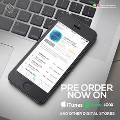 Digital music album promotion design