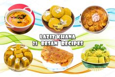 21 Besan Recipes in Hindi – 21 बेसन रेसिपीज इन हिंदी Kebab Recipes, Veg Recipes, Snack Recipes, Dinner Recipes, Snacks, Besan Ladoo Recipe, Dhokla Recipe, Boondi Ladoo, Vada Pav Recipe