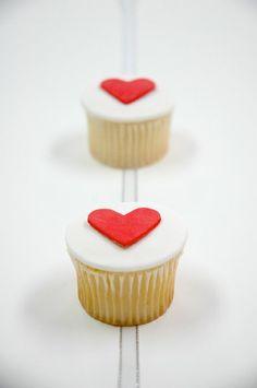 Cupcake na walentynki