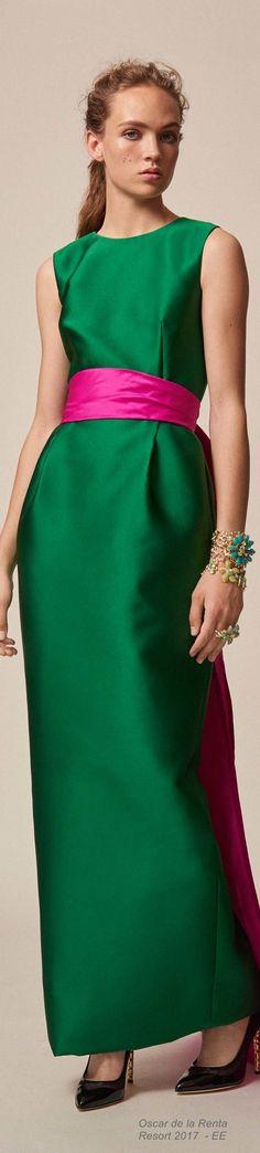 Oscar de la Renta Resort 2017 Fashion Show