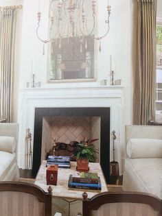 Fireplace- Charleston Style & Design mag.