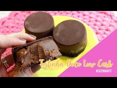 Tortinha Doce Low Carb Com Receheio | Low Carb Diet