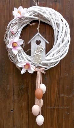 attractive easter wreaths that looks fancy captivating ethinify easter wreath easter decor spring wreath spring door spring decor bunny wreath bunny decor Easter Wreaths, Holiday Wreaths, Holiday Crafts, Wreath Crafts, Diy Wreath, Diy Ostern, Summer Wreath, How To Make Wreaths, Spring Crafts