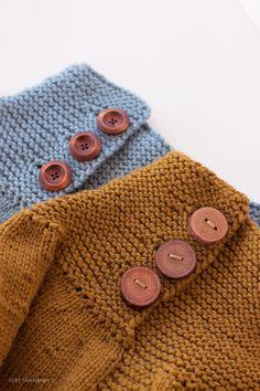 Very Sharon, naaien/breien Knitting Buttonholes