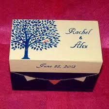 Image result for wedding keepsake box