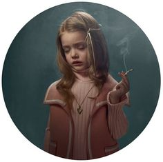 Smoking Kid - Frieke Janssens