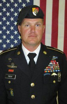 Army MSG. Gregory R. Trent, 38, of Norton, Massachusetts. Died August 8, 2012, serving during Operation Enduring Freedom. Assigned to 4th Battalion, 3rd Special Forces Group (Airborne), Fort Bragg, North Carolina. Died in Bethesda, Maryland, from wounds suffered July 31 in Baktabad, Afghanistan, when enemy forces attacked his unit with small-arms fire.