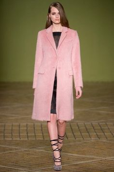 9 eye-catching Pastel Pink coats meet their sole mates 2013 fashion  Pastel Pink woolen coats #Pastel #Pink #coats loveitsomuch.com