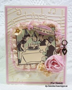 Vintage Street Market - Make A Wish Birthday Card