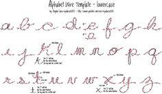 Alphabet fil de fer - Wire alphabet