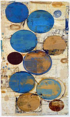 John Belingheri  Still-Light Bluet  mixed media on paper  29 x 18 inches