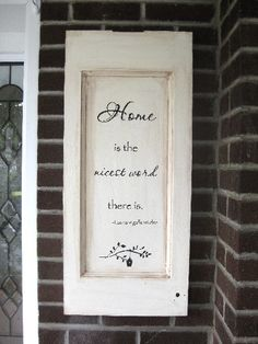Handpainted Home Sign