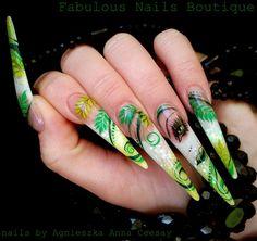 SPRING LADY by Agusia - Nail Art Gallery nailartgallery.nailsmag.com by Nails Magazine www.nailsmag.com #nailart