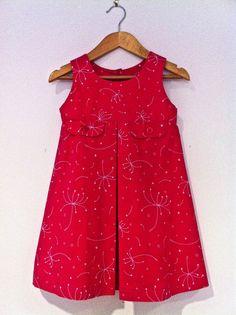 oliver + s   music box pinafore dress