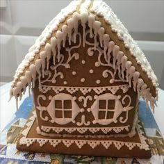 Christmas Treats, Christmas Cookies, Gingerbread Houses, Food Items, Biscuits, Goodies, Cooking Recipes, Sweet, Desserts
