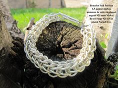 Bracelet Cotte de maille Full Persian / Chain Mail Full par Bijju