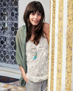 Benetton Magazine, the summer 2014 issue #2 - Alessandra Mastronardi. Find it out on http://www.benetton.com/magazine-may2014/