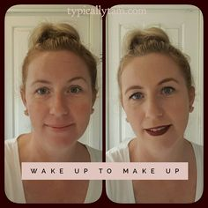 If you saw my live video today this is the easy transformation you saw. If you missed it scroll down 😊 Wake up to Make up...so easy even for everyday,  clumsy me 😉😉 https://multibra.in/fwxhg