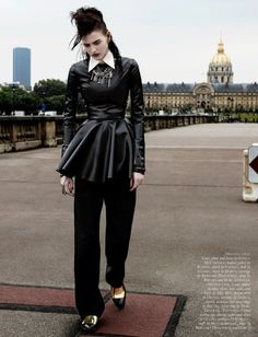 #KatlinAas by #PaulEmpson for #BlackMagazine #20 Fall 2013