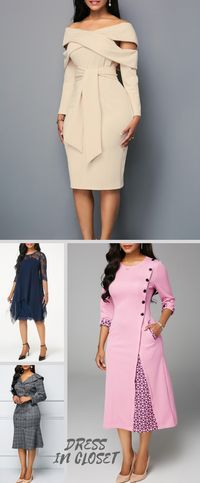 Swans Style is the top online fashion store for women. Shop sexy club dresses, jeans, shoes, bodysuits, skirts and more. Elegant Dresses, Cute Dresses, Beautiful Dresses, Long Fall Dresses, Fall Outfits, Cute Outfits, Business Attire, Work Attire, African Dress