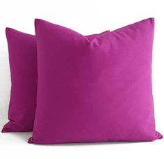 Cotton Purple Pink Pillow Purple Pink Throw Pillow Purple