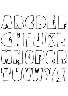 Hand Lettering Alphabet, Doodle Lettering, Creative Lettering, Lettering Styles, Calligraphy Letters, Brush Lettering, Fun Fonts Alphabet, Bubble Letter Fonts, Doodle Alphabet