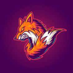 Esport logo Vectors, Photos and PSD files Logo Esport, Fox Logo, Logo Cool, Gaming Logo, Fennec, Fox Games, Team Logo Design, Esports Logo, Graffiti Characters