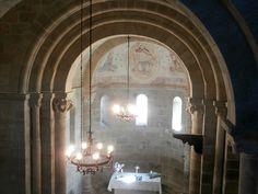 1000 Lugares en Galicia: Iglesia Románica de San Miguel de Eiré, en Pantón....