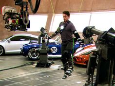 Working behind the scenes Iron Man