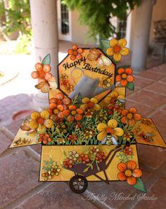Card in a box Springtime http://www.artfullymindedstudio.blogspot.com