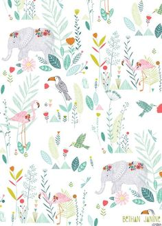 Bethan Janine Jungle animals