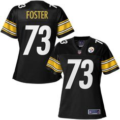 NFL Pro Line Women's Pittsburgh Steelers Ramon Foster Team Color Jersey