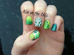10 Festive St Patrick Nail Designs nails nail art nail designs st patricks day st pattys day st patricks day nails