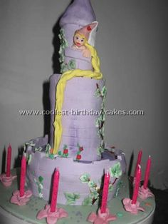 Rapunzel Cakes Photos