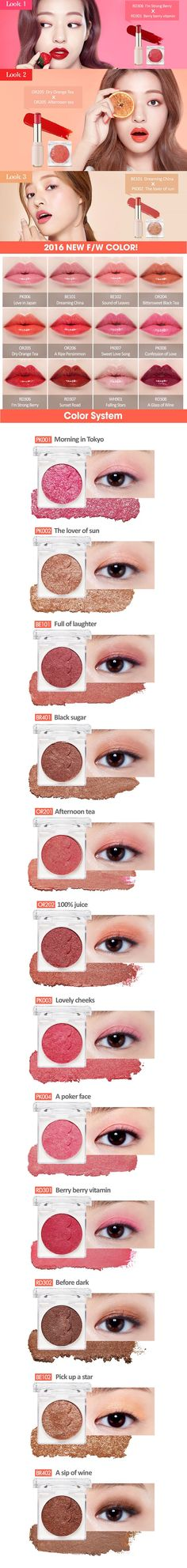 Dear My Enamel Look | ETUDE HOUSE Swatches and Looks