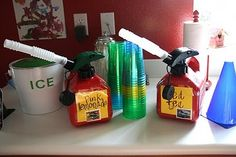 Lots of hot wheels party ideas - a lot of them are geared towards younger kids, but some might work for Michael...