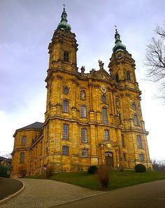 german rococo churches | Vierzehnheiligen, Staffelstein, Germany, 1743, Balthasar Neumann