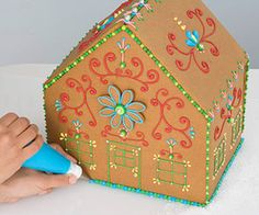 Home Sweet Home: An Easy Gingerbread House