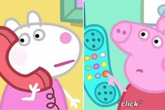 Peppa Pig Pancakes Series 1 Episode 29 1080 HD Mummy Pig makes pancakes, and Peppa and George help, but Daddy Pig flips his pancake so high it sticks to the . Peppa Pig Funny, Peppa Pig Memes, Pig Wallpaper, Wallpaper Iphone Cute, Pegga Pig, Peppa Pig Familie, Animation, Peppa Pig Imagenes, Pigs