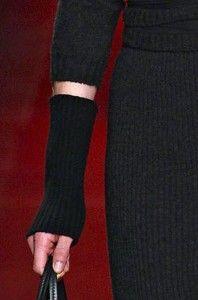 Nina Ricci knit gloves AW13