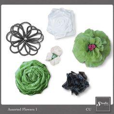 Assorted Flowers 1 {CU} | Studio Romy