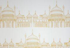 Joanna Corney Textile Designer - Brighton Pavilion Wallpaper