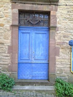 I find doors to be so intriguing - so mysterious - this one in Cordes, France