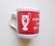 LFC Twice European Cup Winners Mug by LFCcollectables on Etsy