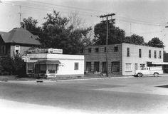 Madison & Division Street in Pontiac, Illinois, looking Northwest..
