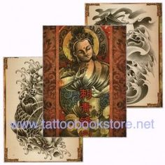 Chinese Style Tattoo Flash book 2 | Tattoo design books,tattoo magazine and tattoo flash books