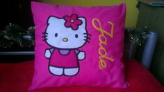 Personalized Hello Kitty pillowcase £15.00