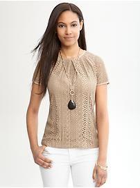 Women's Apparel: short sleeve tops | Banana Republic