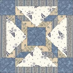 11-23. Today's block is chosen for all our American quilters, for the inevitable travel on the day before Thanksgiving. Airport was first published in Hall in 1935, with a similar block following in 1936 in the Kansas City Star (also called Airport). It is delightfully evocative of tarmacs and runways!